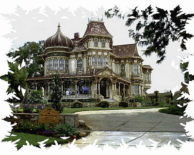 Morley Mansion Art Print