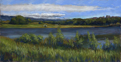 Loveland Painting - Morey Wildlife Park by Billie Colson
