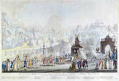 Politics Painting - Morfontaine Treaty, 1800 by Granger