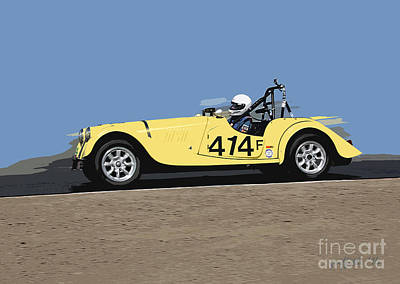 Photograph - Morgan 414 by Tom Griffithe