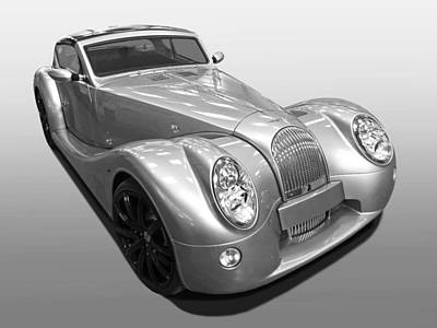 Photograph - Morgan Aero Supersport Bw by Gill Billington