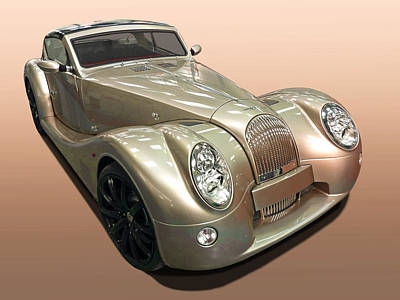 Photograph - Morgan Aero Supersport by Gill Billington