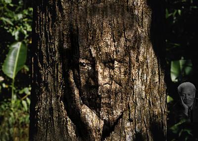 Morgan Freeman Roots Digital Painting Art Print by Georgeta Blanaru