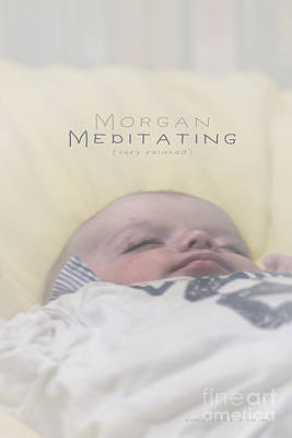 Photograph - Morgan Meditating 2 by Vicki Ferrari