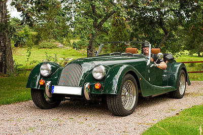 Brittish Photograph - Morgan Roadster by Torbjorn Swenelius