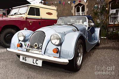 Photograph - Morgan Sports Car by Anthony Morgan
