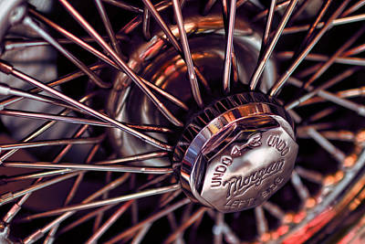 Photograph - Morgan Wire Wheel by EXparte SE