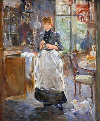 Berthe Photograph - Morisot's In The Dining Room by Cora Wandel