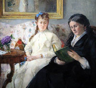 Berthe Photograph - Morisot's The Mother And Sister Of The Artist by Cora Wandel