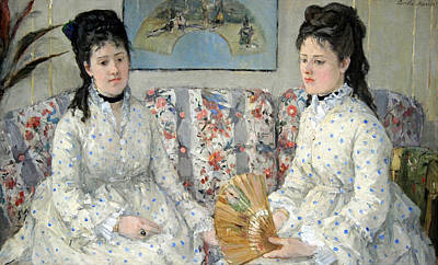 Berthe Photograph - Morisot's The Sisters by Cora Wandel