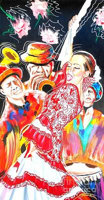 Bob Gibson Painting - Morita Del Sol by Jonathan Tyson