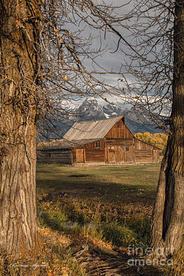Photograph - Mormon Barn by Charlene  Aycock