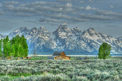 Photograph - Mormon Barn Spring by David Armstrong