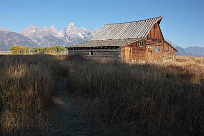 Photograph - Mormon Row Barn by Theo OConnor