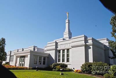 Photograph - Mormon Temple by William Norton