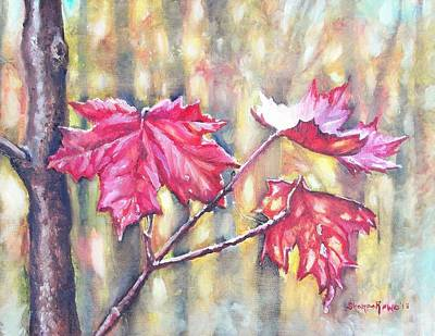 Painting - Morning After Autumn Rain by Shana Rowe Jackson