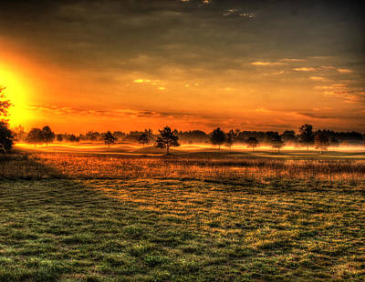Morning Arrives At Foxfire  Art Print by Thomas Young