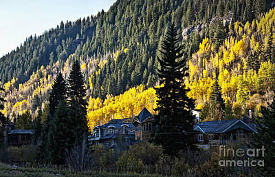 Photograph - Morning Arrives Over Aspen by Lee Craig