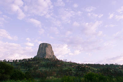 Photograph - Morning At Devils Tower by Dakota Light Photography By Dakota