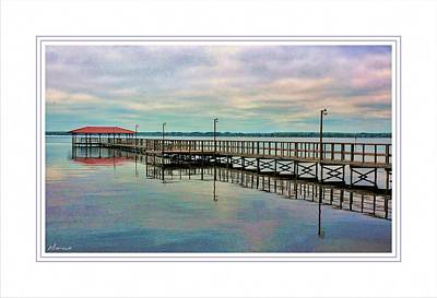 Lake Waccamaw Photograph - Morning At Lake Waccamaw by Barry Monaco