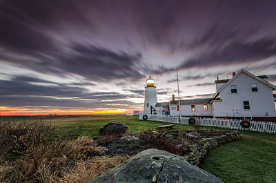 Photograph - Morning At Pemaquid Point by Jatinkumar Thakkar