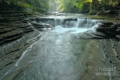 Photograph - Morning At Sunny Brook Gorge by Adam Jewell