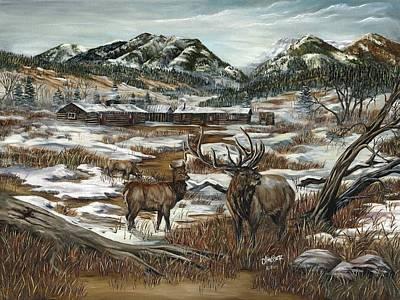 Hunters Paradise Original by Jim Olheiser
