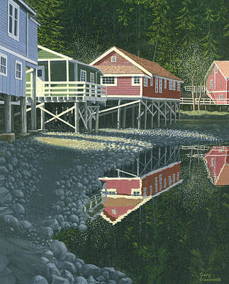 Painting - Morning At Telegraph Cove by Gary Giacomelli