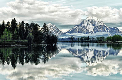 Morning At The Bend Art Print by Jeff R Clow