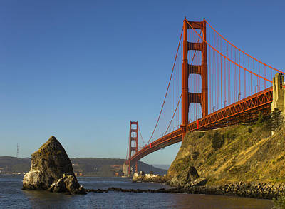 Sausalito Photograph - Morning At The Golden Gate by Bryant Coffey