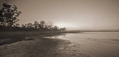 Morning At The Lake Art Print by Gordon  Grimwade