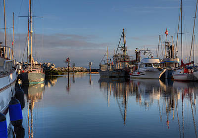 Photograph - Morning At The Marina by Randy Hall