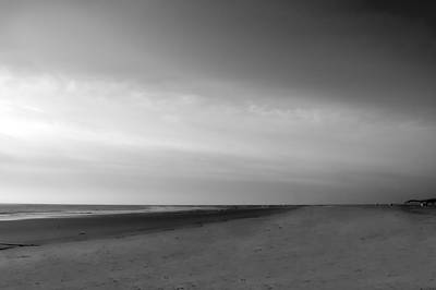 Art Print featuring the photograph Morning At Tybee Island by Frank Bright