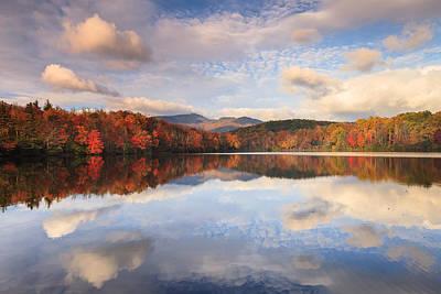 Photograph - Lazy - North Carolina Morning Autumn Sky by Carol VanDyke