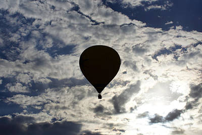 Photograph - Morning Balloon Ride 2 by Ernie Echols