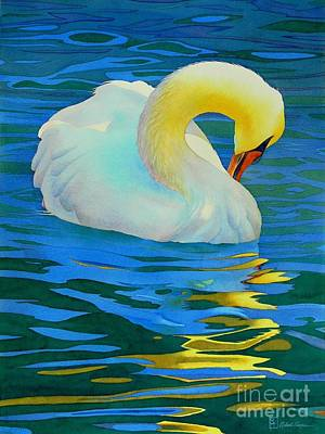 Reflection Painting - Morning Bath by Robert Hooper