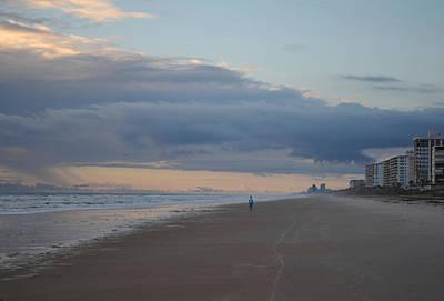 Dainty Daisies - Morning Beach Stroll by rd Erickson