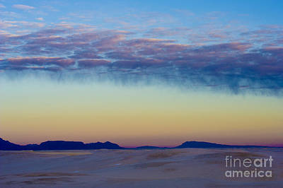 Photograph - Morning Begins In White Sands by Sandra Bronstein