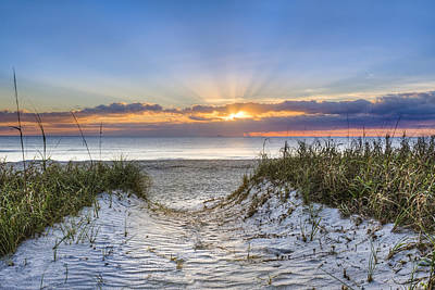 Florida House Photograph - Morning Blessing by Debra and Dave Vanderlaan