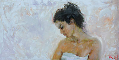Breeze Painting - Morning Breeze by Ylli Haruni