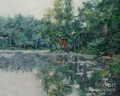Painting - Morning Calm - Adirondacks by Gregory Arnett