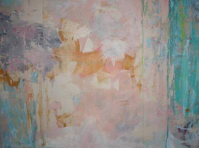 Abstract Painting - Morning Calm  C2010 by Paul Ashby