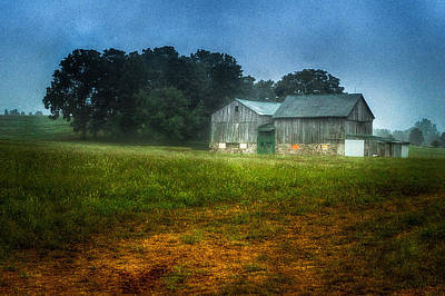 Photograph - Morning Chores by Garvin Hunter
