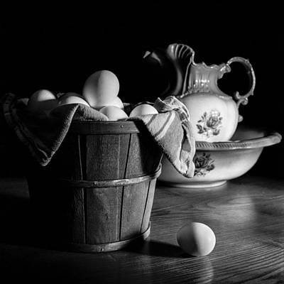 Photograph - Morning Chores by Jeff Burton