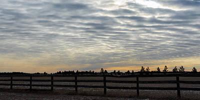 Photograph - Morning Clouds by Dakota Light Photography By Dakota