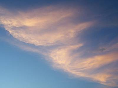 Photograph - Morning Clouds by Ron Roberts
