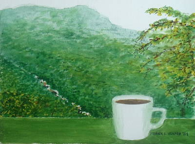 Morning Coffee At The Casa Cubuy Ecolodge Puerto Rico Original by Frank Hunter