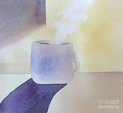 Painting - Morning Coffee by Barbara Tibbets