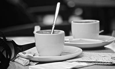 Photograph - Morning Coffee by David Warrington