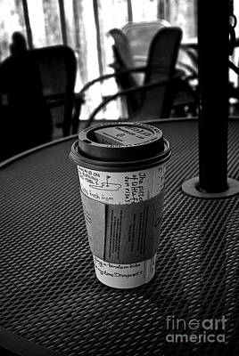 Photograph - Morning Coffee  by Frank J Casella